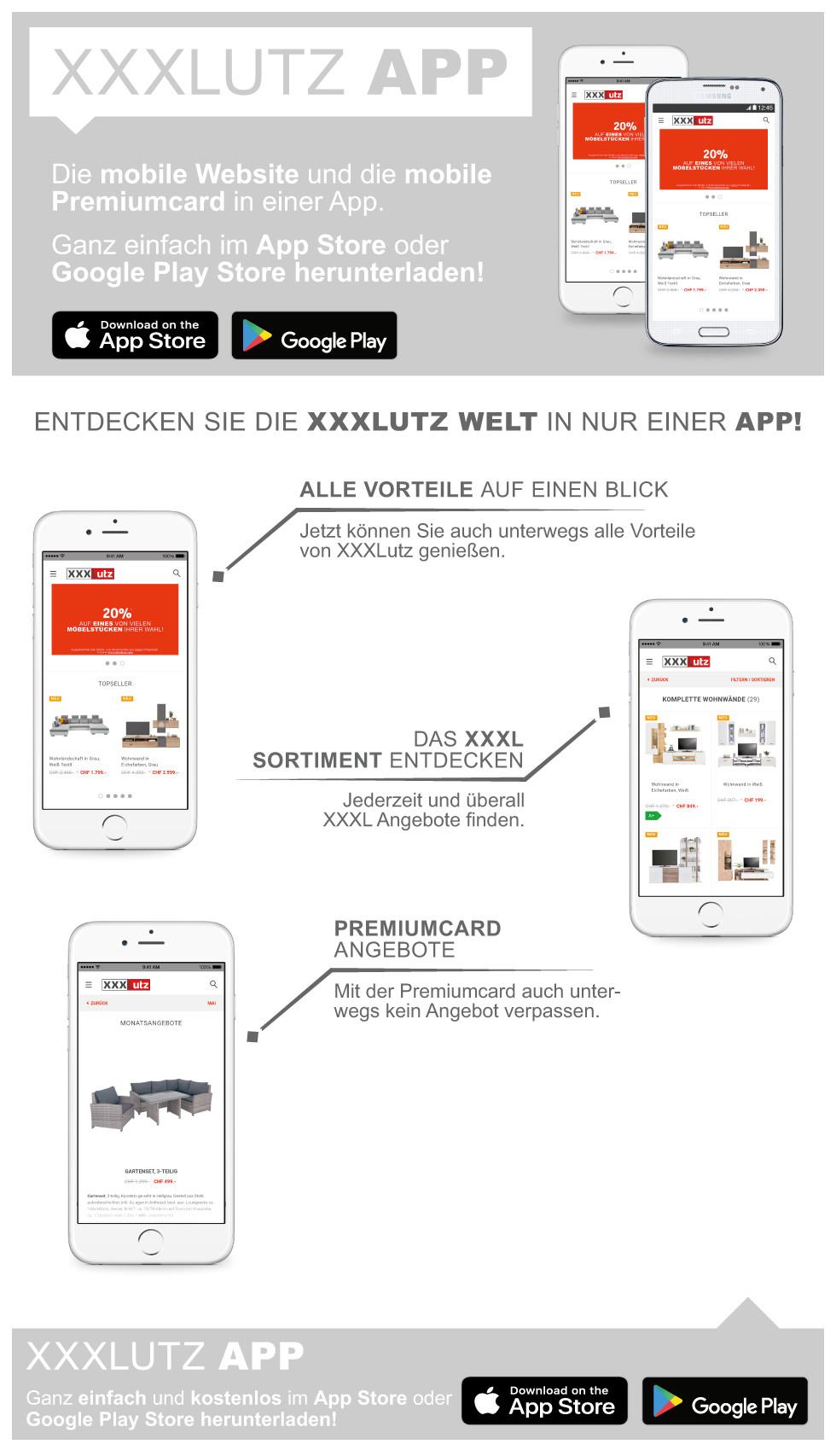 XXXLutz App
