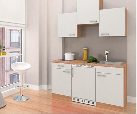 Studentenküchen Front Weiß