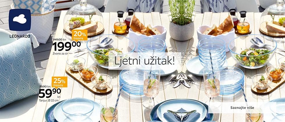 Moderni tanjuri za jelo Leonardo Lesnina XXXL