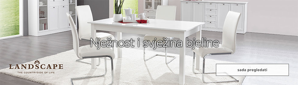 Bijeli  Landscape namještaj u Lesnini