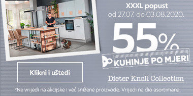 55% popusta na kuhinje po mjeri Dieter Knoll