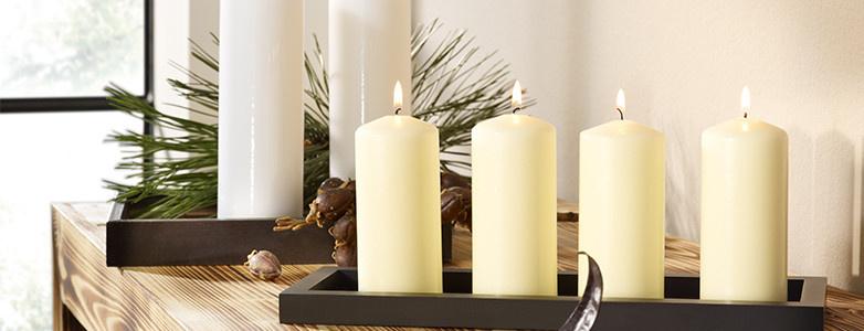 Kerzen weiß