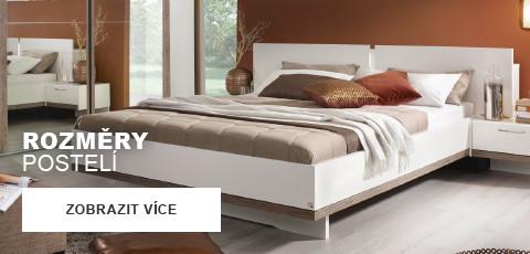 Rozmery posteli