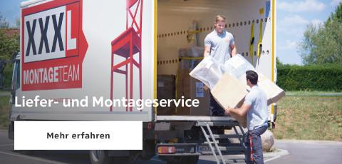 Lieferung und Montageservice
