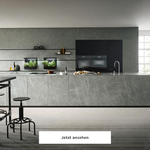 Next125 Küche grau Struktur