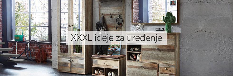 Moderno i zanimljivo predsoblje Lesnina XXXL