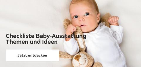 Checkliste Babyausstattung - Themen und Ideen