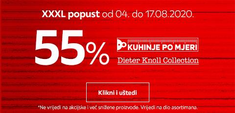 55% popusta na Dieter Knoll kuhinje