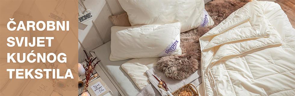 Kvalitetni popluni i jastuci XXXL Lesnina
