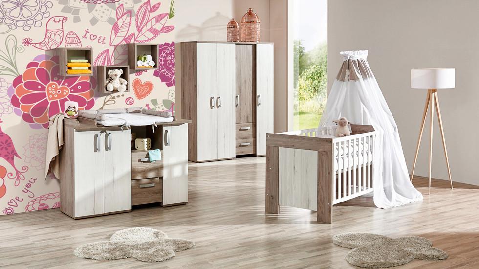 Kinderzimmerset Holzoptik