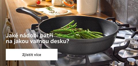 Jaké nádobí patří na varnou desku