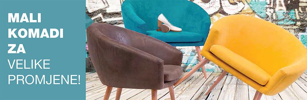 vesele boje fotelja