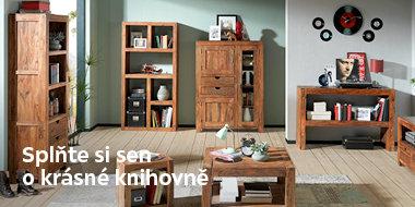 Knihovny a regály u XXXLutz