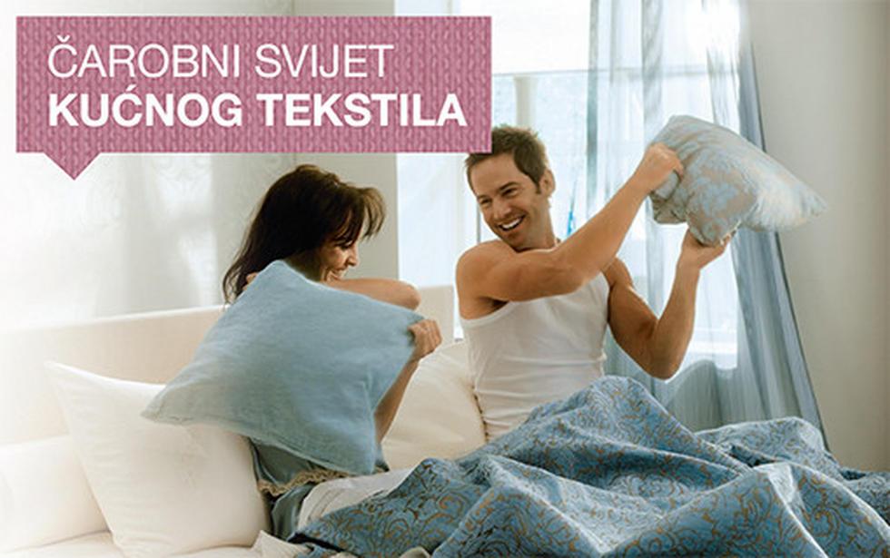 Čarobni svijet kućnog tekstila Lesnina XXXL