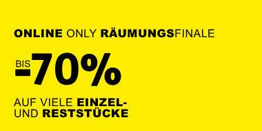 Online Only Räumungsfinale