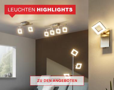 Leuchten Highlights bis zu -77% reduziert