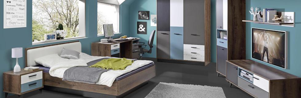 Mladniska soba v moderni izvedbi