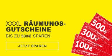XXXL Raeumungsgutscheine bis zu 500€ sparen