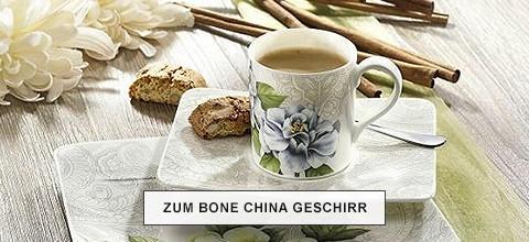 Zum Bone China Geschirr