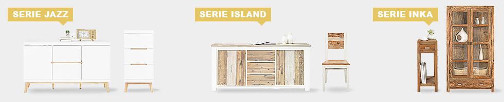 Wohnserien Serie Jazz - Serie Island - Serie Inka