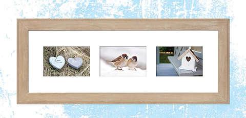 Okvir za tri fotografije