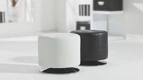 Crni i bijeli tabure