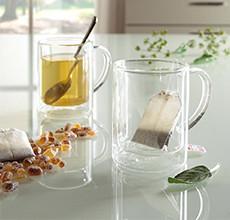 Sklenice na čaj a kávu pro každou příležitost v XXXLutz.