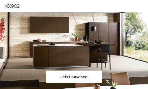 braune Küchenausstattung Next NX902