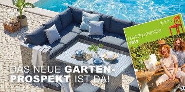 Die Gartensaison ist eröffnet!  Neues Gartenprospekt!