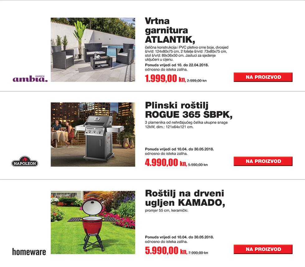 Proizvodi iz naše tv kampanje za travanj