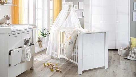 Babyzimmermöbel weiß