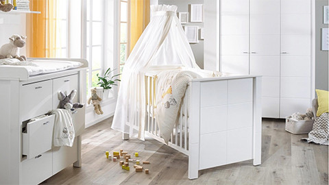 Gitterbetten & babybetten beistellbetten für neugeborene