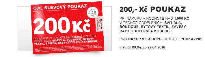 XXXL Gutschein 200 - popis