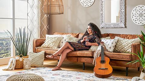 Boho Gypsy  Wohnzimmer