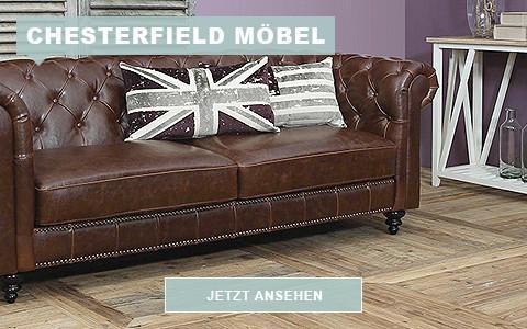 Englische Sofas im Chesterfield Stil
