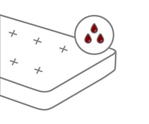 Matratze reinigen Blutflecken