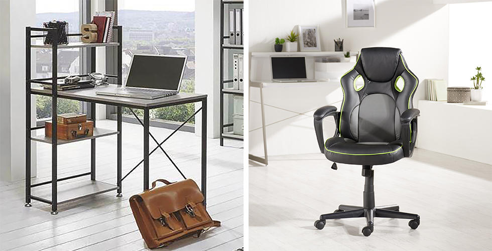 Uredski stol i stolica u Lesnini
