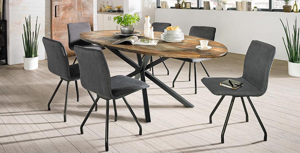 Elegantní jídelní židle Novel v XXXLutz.