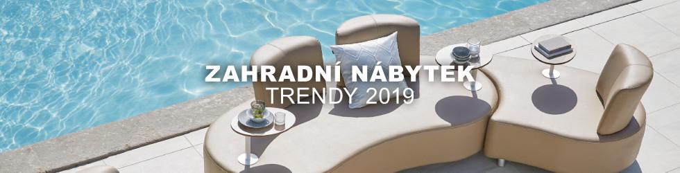 Zahradni nabytek - trendy 2019
