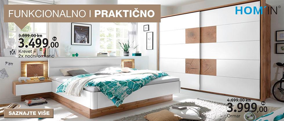 Funkcionalna moderna spavaća soba Lesnina XXXL