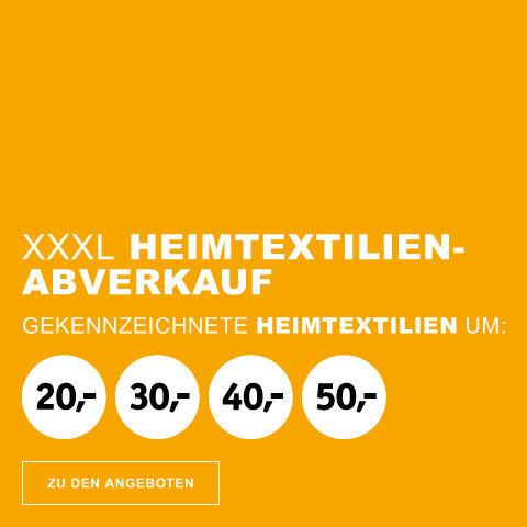 XXXL Heimtextilienabverkauf