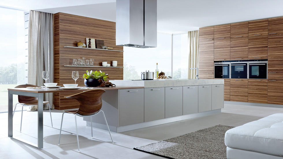 Kueche Holz modern