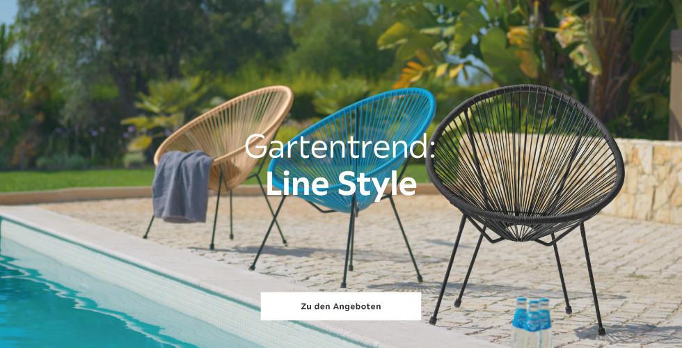 Gartentrend: Line Style