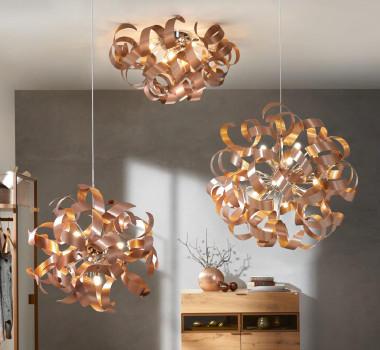 Wohntrend Kupfer Lampe