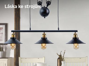 Industriální lampy
