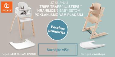 Stokke akcija na Tripp Trapp i Steps hranilice