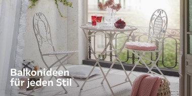 Balkonideen  für jeden Stil