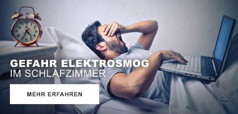 Gefahr Elektrosmog im Schlafzimmer