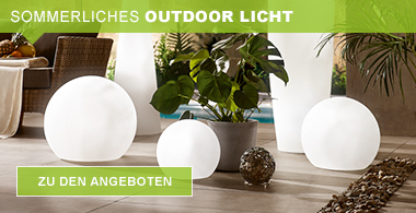sommerliches Outdoor-Licht