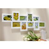 Bijeli okvir za sliku za 10 fotografija